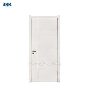 JHK Flush Groove White Color PVC Door
