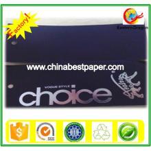 Papier cartonné noir non revêtu 110 g
