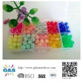 Multicolored DIY Plastic Beads Set for Kids