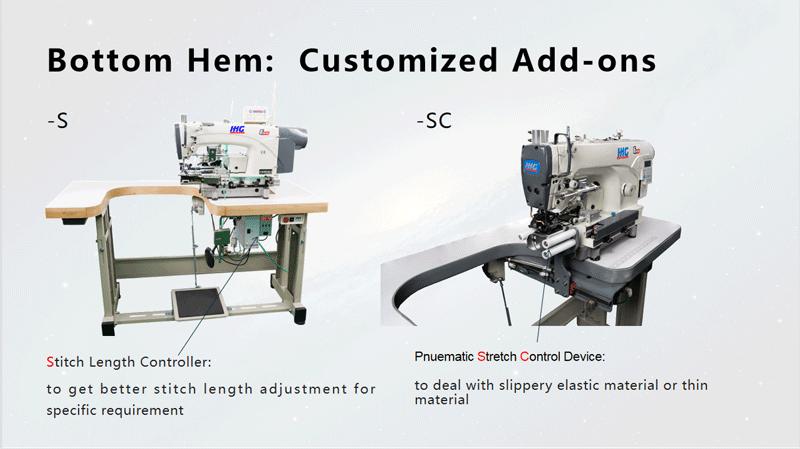 Sewing Machine Hemming Jeans