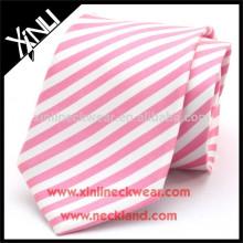 Perfect Knot 100% Silk Woven Stripe Neck Tie Man