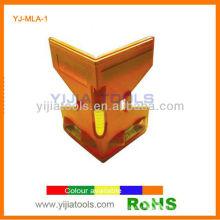 Угловой пластиковый уровень YJ-MLA-1