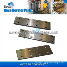 Lift Components, Elevator Fishplate for T Type Elevator Guide Rails