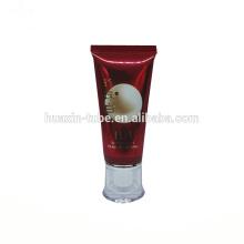 Tubo plástico do creme quente do vermelho BB das vendas 50ml para o cosmético