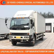 Caminhão da carga do tipo 15cbm 20cbm de 4X2 Isuzu para a venda