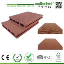 WPC-Bodenbelag, WPC-Planke, hölzernes Plastikkomposit-Plattform-Brett
