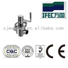 Valve de siège simple sanitaire en acier inoxydable (IFEC-SV100001)