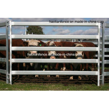 40X80mm Oval Rails Livestock Panels