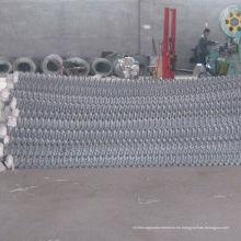Valla de enlace de cadena galvanizada eléctrica del precio de fábrica