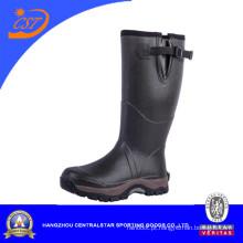 Boa Qualidade Botas de borracha Botas de chuva Botas de duas cores Sole (66608N)