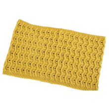 Womens Mens Unisex Neck Warmer Thick Cashmere Feel Winter Knitted Loop Scarf Snood (SK132)
