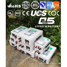 Batteries lithium industrielles Lithium LiFePO4 Li (NiCoMn) O2 Polymer Lithium-Ion Rechargeable 3.7V 7.4V 12V 24V 36V 48V 60V 72V