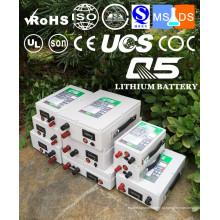Baterias de lítio industriais Lithium LiFePO4 Li (NiCoMn) O2 Polymer Lithium-Ion recarregável 3.7V 7.4V 12V 24V 36V 48V 60V 72V