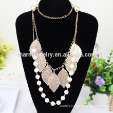 2015 NK004 Nation Style Long Necklace Sweater Chain Pearl Sweater Chain Long Style Sweater Chain