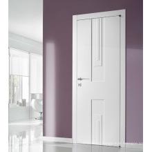 5 mm MDF finger-joint de madera blanda blanca puerta rasante