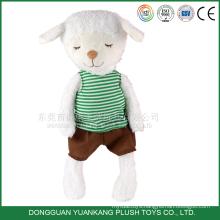 25cm Custom Stuffed Plush Toy Cute Mini Sheep Doll for Girl