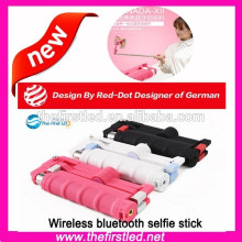 Wireless Selfie Stick Bluetooth-Monopod für Smartphones, Iphones, Samsung und Kameras