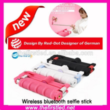 wireless selfie stick bluetooth monopod for Smartphones,Iphones,Samsung and cameras