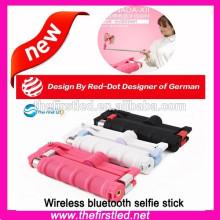 Monopé bluetooth wireless sem fio para smartphones, Iphones, Samsung e câmeras
