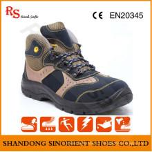 Sapata do trabalho dos calçados de segurança do edifício para a sapata do trabalho da segurança do mercado de Médio Oriente