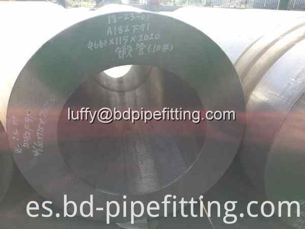 660 115 Forged Pipe F91