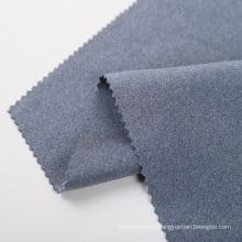 melange cationic polyester interlock scuba knit fabric