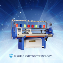 Single System Computerized Flat Jacquard Knitting Machine with comb (GUOSHENG)
