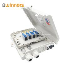 Adaptador de fibra Sc / Lc Caja de empalme de fibra óptica 8 puertos