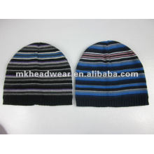 mens fashion knitted beanie hat