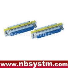 Db50 männlich zu weiblicher adapter geschlechtswechsler blau