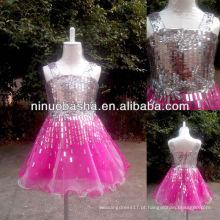NW-421 Charming Real Sample Flower Girl Dress