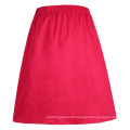 Grace Karin Women's Vintage Retro Pleated Red Cotton Summer Skirt 7 Patterns CL010401-7