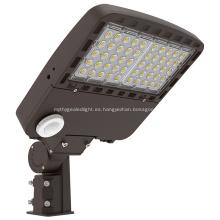 Luz de caja de zapatos con área de luz LED para estacionamiento de 100W