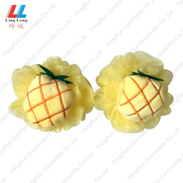 Pineapple charming mesh fruit bath ball