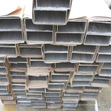 Tube en aluminium carré creux adapté aux besoins du client