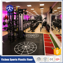 Plancher de gymnastique en caoutchouc de Crossfit Fitness Center