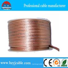 OEM Serive Transparente Litze Kupfer Kupfer Parallel Kabel Flexible Draht