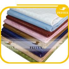 Moda textil de algodón en tela africana bazin riche súper brocado alibaba express china