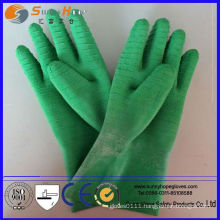 Natural Rubber Latex coated rubber glove