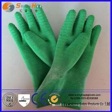 Натуральная резиновая резиновая перчатка с резиновым покрытием