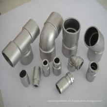 Adaptador de conector de fundición de precisión de acero inoxidable