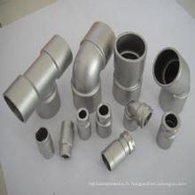 Adaptateur de connecteur de coulée de précision en acier inoxydable