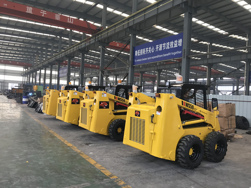 Fuwei 36.8kw Mini Wheeled Skid Steer Loader