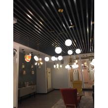 Mini lâmpada suspensa de vidro e lustre pendente de hotel