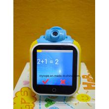 GPS inteligente reloj para niños y ancianos Sos GPS reloj con pantalla táctil