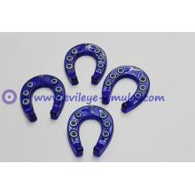 Turkish evil eye blue horseshoe Acrylic decorative accessories