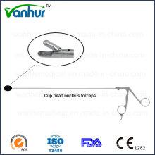Instrumentos de endoscopia transforaminal lombar Cabeça de copa Pinças de nucelus