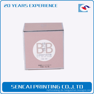 Sencai maßgeschneiderte Blemish Balm Creme Flasche Papier Box
