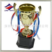 Wholesale cheap small plastic trophy cup promotional plastic award trophy