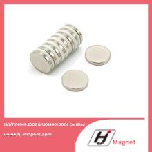 Scheibe NdFeB Dauermagnet auf Industrie mit N35-N52 Grade